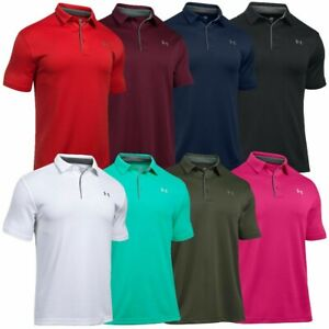 Under-Armour-UA-Tech-Men-039-s-Golf-Polo-Shirt-NEW-FREE-SHIPPING-1290140
