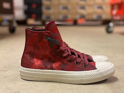 CONVERSE CHUCK TAYLOR ALL STAR II 2 JOHN VARVATOS WOMENS HIGH TOP TRAINERS PUMPS
