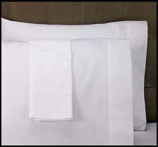 6 NEW BRIGHT WHITE T250 PREMIUM PILLOW CASES STANDARD SIZE HOTEL GRADE