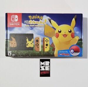 Pikachu Eevee Edition Nintendo Switch Pokemon W Let S Go Pikachu