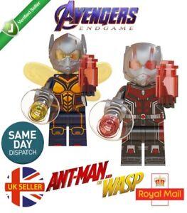 Wasp from Ant-Man Marvel Superhero Mini Action Figure Toy Avengers Moc