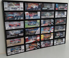 1:64 Diecast Car Wall Display Case holds 24 Cars Lionel NASCAR, Hot Wheels +