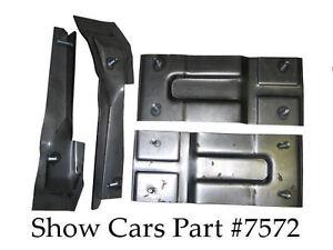 1961 1962 1963 1964 Chevy Impala Bucket Seat Mounting Brackets 61 62 63 64u S A Ebay