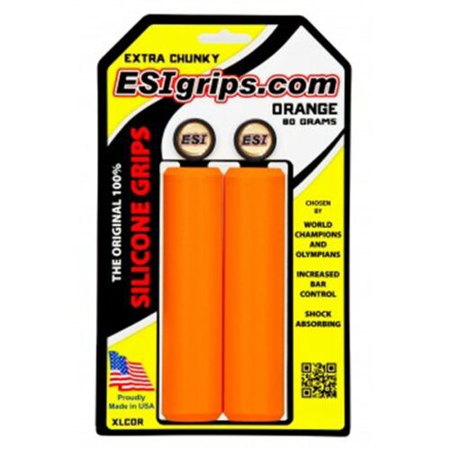 ESI Extra Chunky Grips 130mm Orange