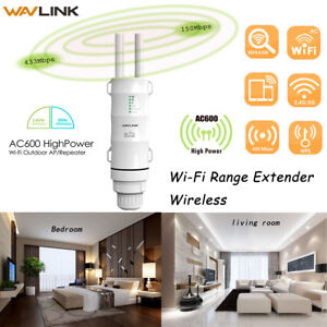 Wavlink-Outdoor-AC600-2-4-amp-5G-Repeater-AP-Wifi-Signal-Boosters-amp-Ranger-Extender