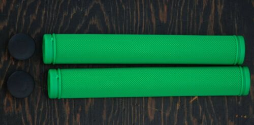 Green Velo Track Bike GRIPS Drop Handlebars Fixed Gear Fixie Bicycle Bullhorn