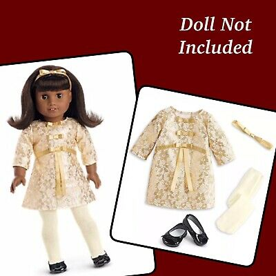 American Girl Doll Meet Outfit 3pc Jacket Dress Sneakers-no Doll