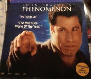 Phenomenon Widescreen THX Laserdisc LD John Travolta