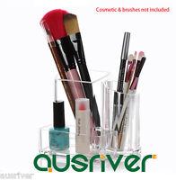 Makeup Brushes Holder Cosmetic Organizer Lipstick/nail Polish Storage Case