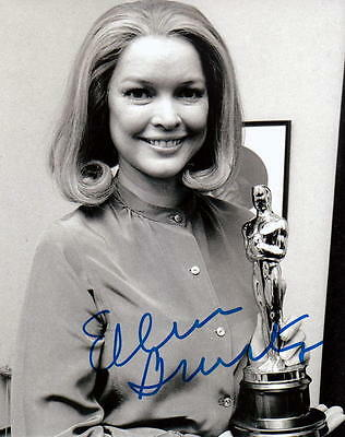 Ellen Burstyn. Signed Be Friendly In Use With Her Academy Award