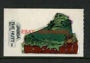 Vintage-Star-Wars-Jabba-The-Hutt-1983-ROTJ-Vending-Machine-Sticker