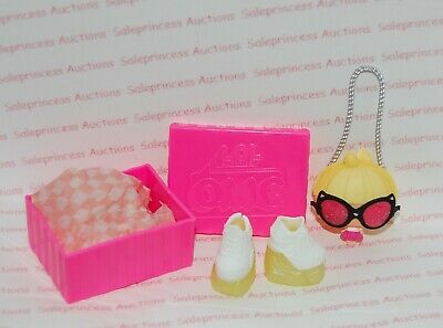NEW LOL Surprise OMG Lady Diva Doll Purse Snake Skin Boots /& Shoe Box Acc Loose