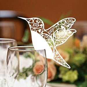 Hummingbird-Wedding-Name-Place-Cards-For-Wine-Glass-Laser-Cut-Pearlescent-Card