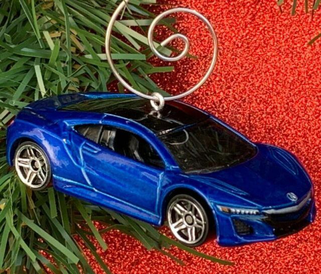 2017 Blue Acura NSX Car Custom Christmas Tree Ornament