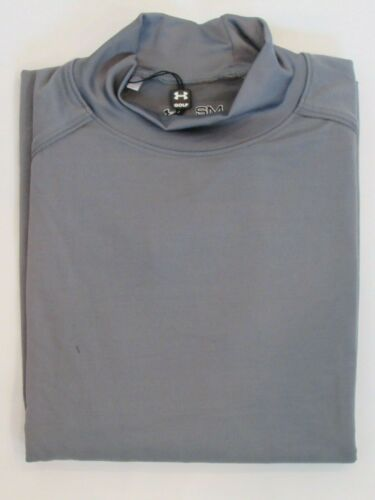 NEW MENS UNDER ARMOUR ALL SEASON GEAR L//S LOOSE FIT MOCK SHIRT PICK SIZE /& COLOR