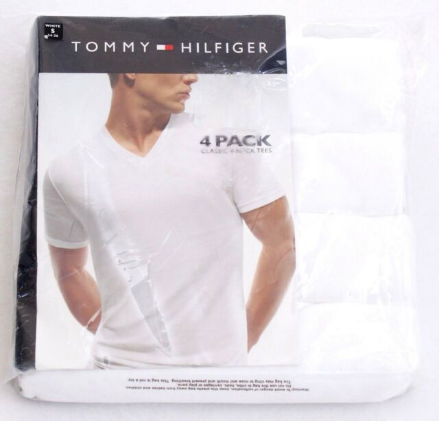 071f8dd3 Tommy Hilfiger Classic V Neck Tee Shirt 4 in Package New in Package Men's