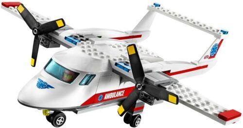 #60116 LEGO City Ambulance Plane Rare Retired 2016