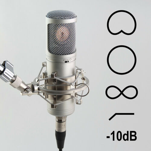 Recording tools MC-700 Doppelmembran Kondensator Mikrofon Richtcharakteristik