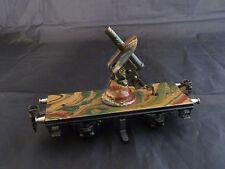 alter Militär-Plattformwagen - Original Märklin - mit Flak - 1705 - 30er Jahre