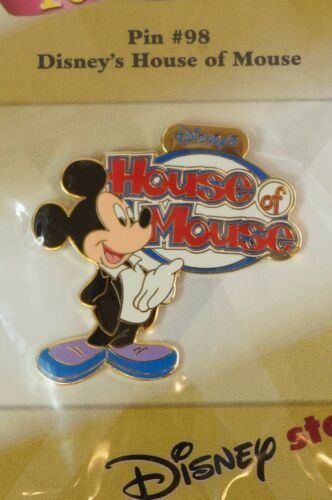 Disney Store JAPAN Pin Walt 100th Dreams #98 House of Mouse Mickey