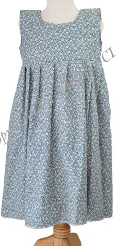 VICTORIAN PINNY Annie//Workhouse//Copen Floral Smock Dress DANCE SHOWS FANCY DRESS