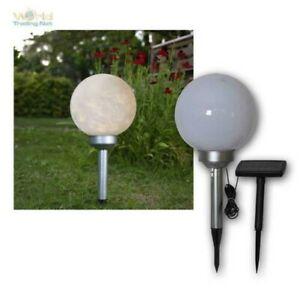 Kugelleuchte-LUNA-20cm-Solarpanel-extern-LED-rotiert-Solar-Kugel-mit-Erdspiess