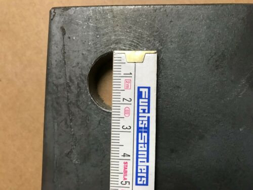 Ankerplatte 160x170x10 Eisenplatte Stahlplatte Eisen Stahl Platte Flacheisen 76