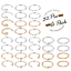 32Pcs-20G-Surgical-Steel-Nose-Rings-Hoop-Tragus-Cartilage-Helix-Ring-Piercing thumbnail 1