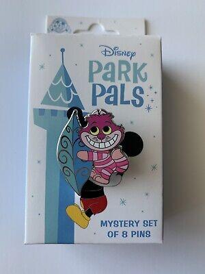 2020 Disney Park Pals Pin Mystery Box Cheshire Cat Alice In Wonderland