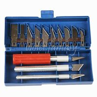 Gravers Wood Carving Tools Steel cutter Detail Chisel Craft Tools 13 Blades Set
