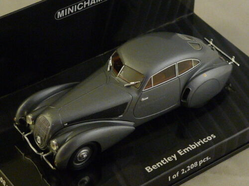 Bentley Embiricos 1938 argent 1//43 MINICHAMPS 436139820