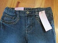 Girls Lulu Luv Skinny Jeans 6x Adjustable Waist Sequins Stitching On Pocket