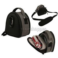 Steel Grey Digital Cameras Bag Case For Sony Cyber-shot DSC-WX150 DSC-RX100