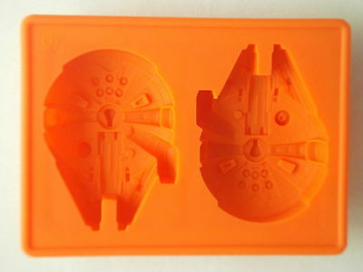 Star Wars Millenium Falcon Silicone Baking Ice Cake Soap Candy Choc Mold Mould
