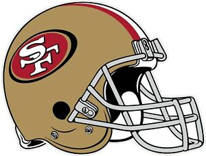 San-Francisco-49ers-Helmet-NFL-Vinyl-Decal-Sticker-Sizes-Free-Shipping