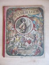 Au Clair de la Lune, illustrated by Lorentz Froelich, Paris, 1878