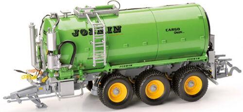 JOSKIN Vacu Cargo 24000 3 essieux série spéciale verte ROS60214 1//32