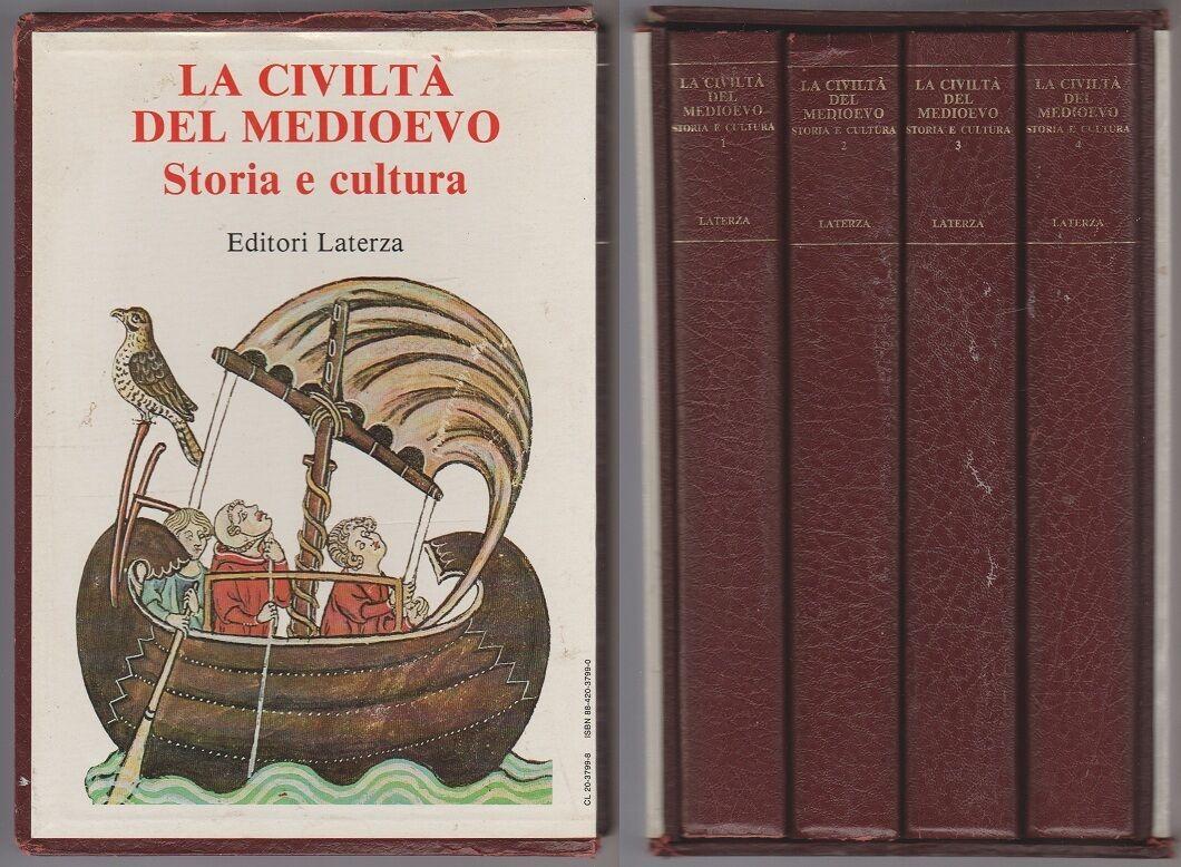 La civiltà del medioevo. Storia e cultura (4 voll.)