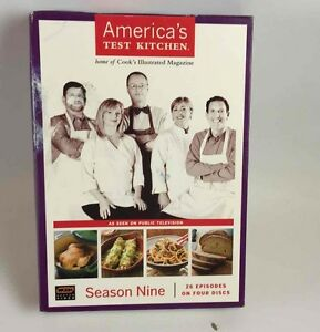 america s test kitchen season 9 dvd set 26 episodes on 4 88174