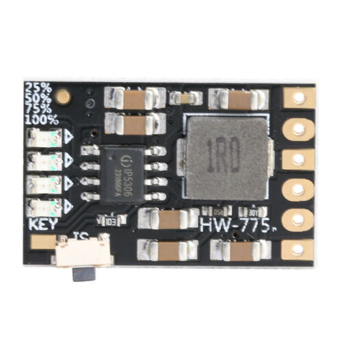 2A 5V Charge Discharge Integrated 3.7//4.2V Li-ion Battery Boost Power Board
