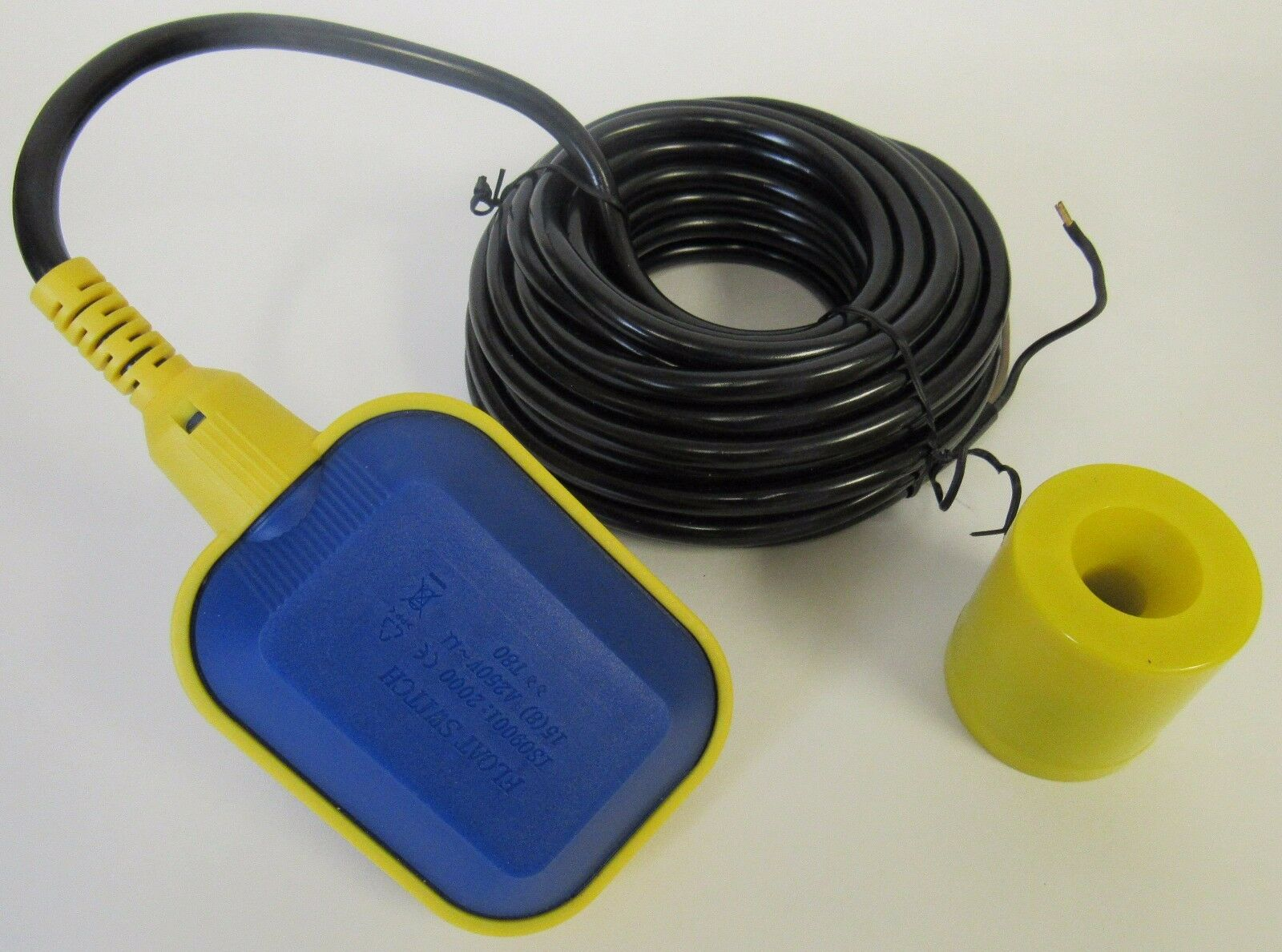 LS-CF07 Float Level Controller Switch with 25 foot cable 125 250 VAC 24 VDC NO
