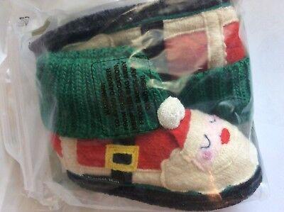 Garnet Hill Wool HAND MADE slipper otter animal boot shoe sleep kid gift child