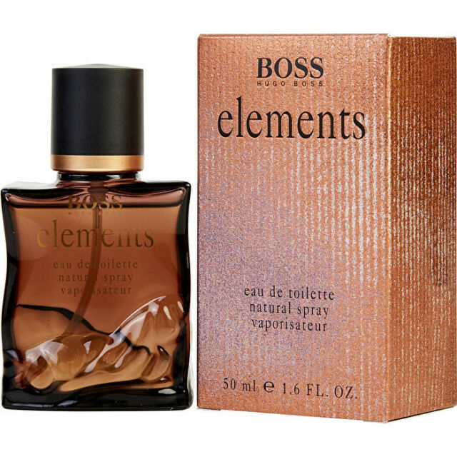 Hugo Boss Elements Eau De Toilette Spray 50ml Mens Cologne