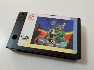 MSX 2 Game Akumajo Dracula Castlevania Konami 1986 Japan 0609A22