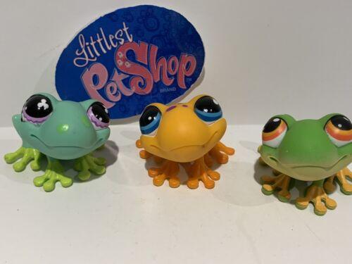 Hasbro LPS FROG #479 874 264 LOT Littlest Pet Shop
