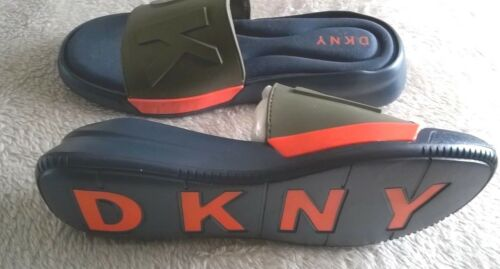 Sandals 5 us 5 Navy Green Dkny Orange amp; Rebecca 7 Uk Nwb qX4w08wy