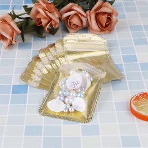 10pcs-gold-Glossy-Heat-Seal-Aluminum-Foil-Small-Ziplock-Bag-Flat-Zip-Lock-J-amp-C-S