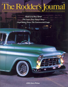 No-41-Newsstand-Cover-A-James-Austin-039-s-1955-Chevy-Pickup-RODDERS-JOURNAL