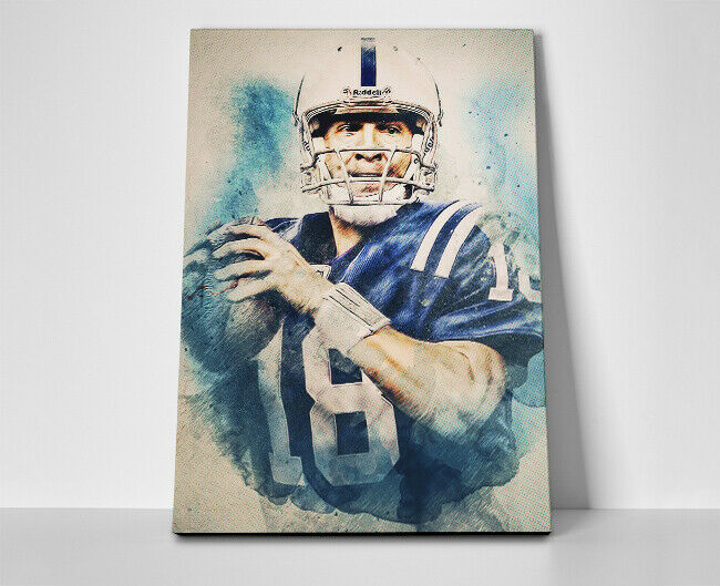 Peyton Manning Colts Poster or Canvas