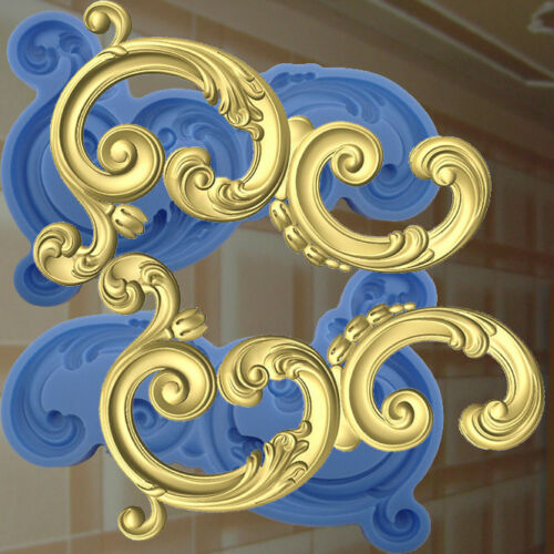 Dekor Stuck Verzierung Silikonform Ornament Relief Deckenverzierung Mold 193